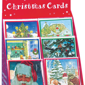 24-Day Mini Advent Christmas Cards (60)