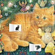 Kitty Glitter Advent with Stickers – NEW