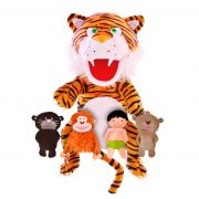The Jungle Book Hand and Finger Puppet Set-NEW
